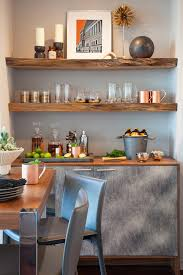 Chic Rustic Shelves Trend San Diego Contemporary Home Bar Decoration Ideas With Bachelor Pad Cocktail Table