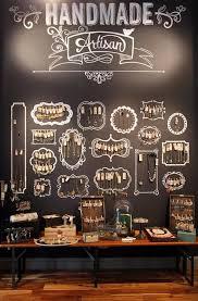 Chalkboard Jewelry Display Hative Creative