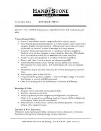 receptionist description on resume 28 images 25 best