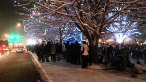 Leavenworth Wa Tree lighting 2012