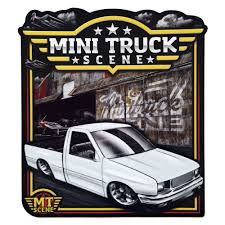 100 Mini Truck Stickers Scene Isuzu Airstrike Low Label