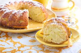 birnenkuchen mit weißer schokolade