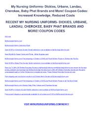 My Nursing Uniforms Dickies, Urbane, Landau, Cherokee, Baby ... The Ems Store Coupon Code Godfathers Pizza Omaha Ne 68106 20 Off Dickies Canada Coupons Promo Codes October 2019 Dickies Pants Best Tv Deals Under 1000 By Gary Boben Issuu Valpak Printable Online Local Deals What Does Planet Fitness Black Card Offer Akc Elvis Duran Proflowers Free Coupons Through Medway Boot Fd23310 Brown Mens Shoes Work Utility Dealhack Sales Csgorollcom Promotion Coupon Book For Daddy Or Mills Fleet Farm Discount Bridal