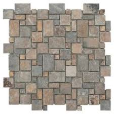 part of our casa antica collection of mosaic travertine this split