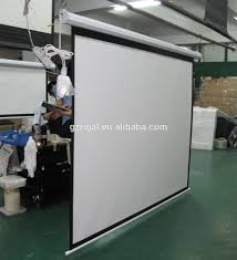 Ceiling Mount For Projector Screen by Electric Projector Screen Wall U0026 Ceiling Mounted Motorized