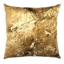 personalized gold initial throw pillow walmart com fair pillows