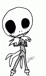 Nightmare Before Christmas Pumpkin Template by Jack Skellington Coloring Page Coloring Home