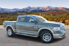 Pre-Owned 2013 Ram 1500 Laramie Longhorn Edition Crew Cab Pickup In ...