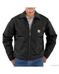 100 Carhart On Sale C4114 Men T Blanket Lined Duck Detroit Jacket