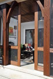 Pet Doors For Patio Screen Doors by Screen Tight Fiberglass Screen Door Is Mounted On A Mini Screen