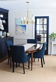 New Dining Room Chairs JULIA RYAN With Navy Blue Chair Prepare 4