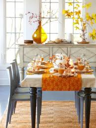 ideal fall decorating ideas for dining room table for house