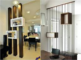 Living Room Partition Turn One Into Two With Amazing Dividers And Dining