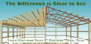 Steel Truss Pole Barns