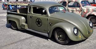 100 Vw Bug Truck Just A Car Guy Interesting Bugtruck Creation With A Military