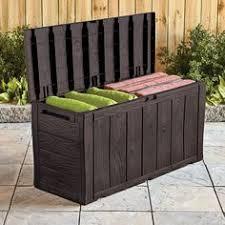 keter rockwood storage box anthracite grey outdoor storage box