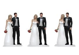 Wedding Cake Topper Figurine LOVE