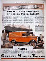 100 Antique Truck Values 1930 General Motors S Vintage Advertisement Wall