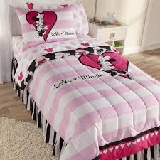 disney minnie mouse reversible comforter set