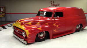 1954 Ford F100 Panel - YouTube