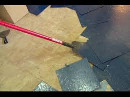 Vinyl Floor Underlayment Bathroom by How To Remove A Vinyl Floor And Plywood Subfloor This Old House