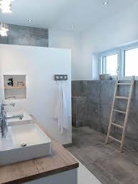 baddesign zementlook natürlich ruhig gemauerte dusche