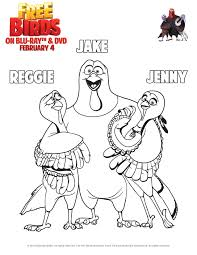 Free Birds Printable Coloring Pages And Activity Sheets Throughout Bird