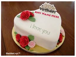 Happy Birthday Cake for Husband