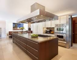 Awesome Kitchen Island Table Ideas With Seating And Ceiling Lamps