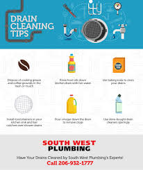 Unclogging A Bathtub Drain With Vinegar by 6 Tips To Keep Your Drains Clear South West Plumbing