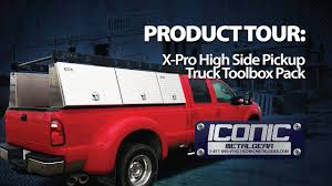100 Tradesman Truck Tool Box XPro High Side S Pack Iconic MetalGear YouTube