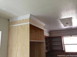 Kitchen Cabinet Soffit Ideas by Covering Soffit In Kitchen Remodel Hometalk