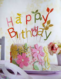 Marvelous Ideas Happy Birthday Flowers And Cake Gorgeous With Cakes My Blog