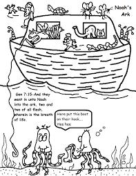 Noahs Ark Coloring Pages
