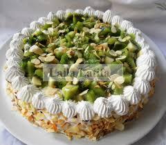dessert aux kiwis facile les secrets de cuisine par lalla latifa tarte chantilly kiwis