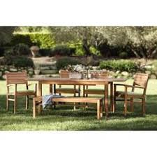 Martha Stewart Patio Sets Canada by Meridian 6 Piece Patio Dining Set Modern Patio Table Sets On