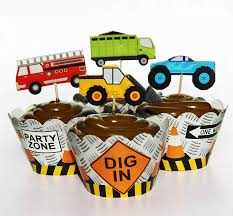 Buy 24 Truck Tractor Cupcake Toppers - Red Fox Tail TM Online At Low ... Personalised Monster Truck Edible Icing Birthday Party Cake Topper Buy 24 Truck Tractor Cupcake Toppers Red Fox Tail Tm Online At Low Monster Trucks Cookie Cnection Grave Digger Free Printable Sugpartiesla Blaze Cake Dzee Designs Jam Crissas Corner Cake Topper Birthday Edible Printed 4x4 Set Of By Lilbugspartyplace 12 Personalized Grace Giggles And Glue Image This Started