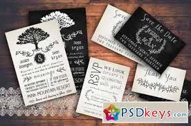 Rustic Wedding Invitation Pack 128815