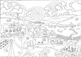 Hard Adult Coloring Pages