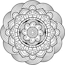 Free Mandalas Coloring Pages On 17 Best Ideas About Mandala Pinterest