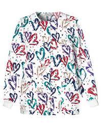 Ceil Blue Print Scrub Jackets by Print Scrub Jackets Latest Designs At Affordable Pricing