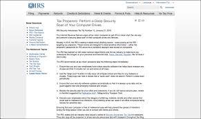 IRS Security Awareness Tax Tip Number 10 Tutorial TeachU p Inc