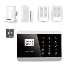 kit alarme maison sans fil gsm sms android iphone commande à