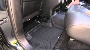Quadratec Floor Mats Vs Weathertech by Review Of The Weathertech 2nd Row Rear Floor Mat On A 2015 Jeep