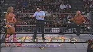 Halloween Havoc 1996 Outsiders by Hulk Hogan Vs The Ultimate Warrior Dailymotion
