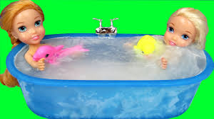 Caillou In The Bathtub Parody by Bath Ice Trouble Elsa U0026 Anna Toddlers Bubbles Foam Messy