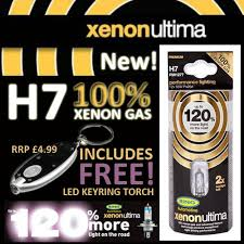 smart car 02 ring h7 xenon ultima 120 headlight bulbs new ebay