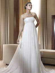 chiffon wedding dresses empire waist u2013 reviewweddingdresses net