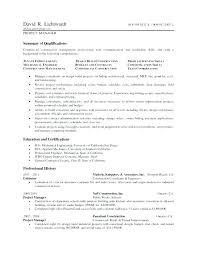 Project Manager Resume Sample Rekomend Me Construction