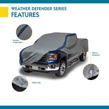 100 Triple Cab Truck Duck Covers Weather Defender Pickup Cover Fits Standard